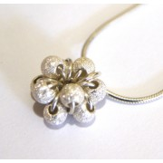 Cluster Necklace - Silver